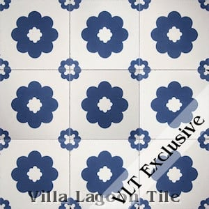 """Ambrose"" Cement Tile, from Villa Lagoon Tile."