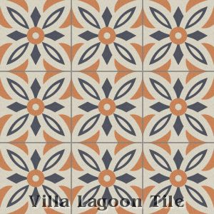 """Arthur"" Cement Tile, from Villa Lagoon Tile."