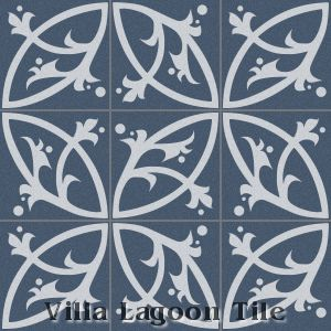 """Boden"" Cement Tile, from Villa Lagoon Tile."