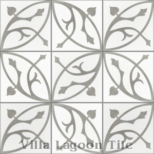 """Boden H"" Cement Tile, from Villa Lagoon Tile."