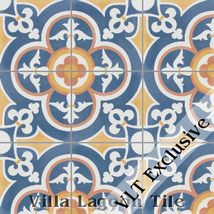 """Caprice Sebring"" Cement Tile, from Villa Lagoon Tile."