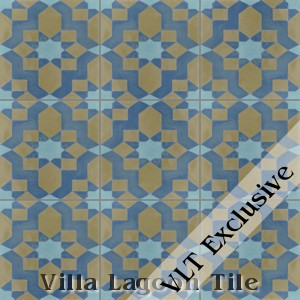 """Fez"" Cement Tile, from Villa Lagoon Tile."