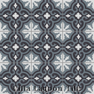 """Fiore C Mountain"" Cement Tile, from Villa Lagoon Tile."