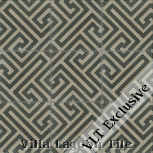 """Fretwork"" Cement Tile, from Villa Lagoon Tile."