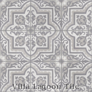 """Habanero Sencillo"" Cement Tile, from Villa Lagoon Tile."