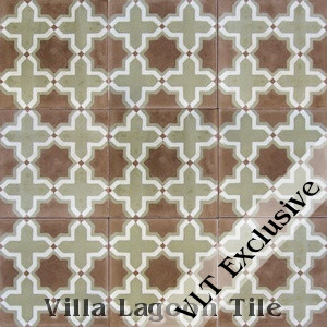 """Kismet"" Cement Tile, from Villa Lagoon Tile."