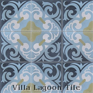 """La Española"" Cement Tile, from Villa Lagoon Tile."