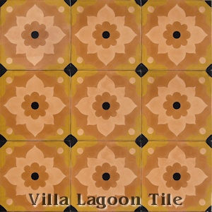 """Omar Sharif"" Cement Tile, from Villa Lagoon Tile."