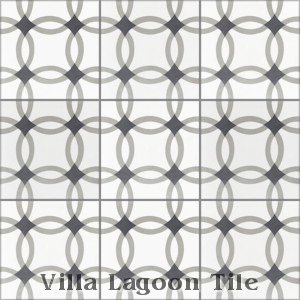 """Omni Petite"" Cement Tile, from Villa Lagoon Tile."