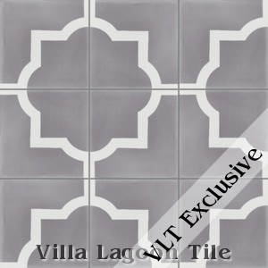 """Piazza Grande"" Cement Tile, from Villa Lagoon Tile."