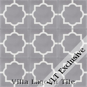 """Piazza Petite"" Cement Tile, from Villa Lagoon Tile."