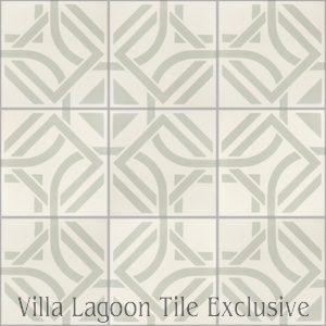 """Portals Linen"" Cement Tile, from Villa Lagoon Tile."