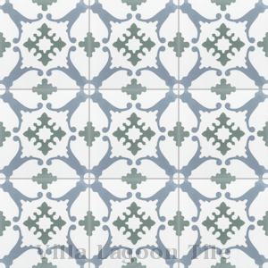 """San Antonio CU-1801"" Cement Tile, from Villa Lagoon Tile."