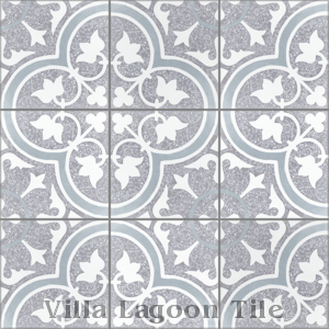 """Tulips B Holland Terrazzo"" Cement Tile, from Villa Lagoon Tile."