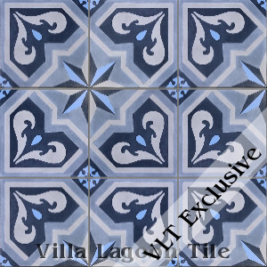 """Valencia"" Cement Tile, from Villa Lagoon Tile."