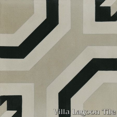 Adams cement tile, from Villa Lagoon Tile.