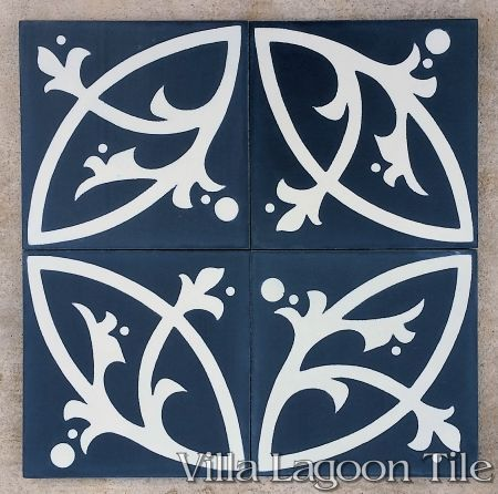 Boden cement tile, from Villa Lagoon Tile.