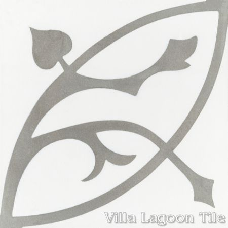 Boden H cement tile, from Villa Lagoon Tile.