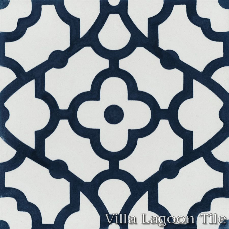 Interior Blue And White Tile breeze blue white cement tile villa lagoon actual click for larger image