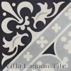 """Canterbury Three"" Cement Tile from Villa Lagoon Tile"