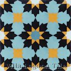 """Casablanca Primero"" Cement Tile from Villa Lagoon Tile"