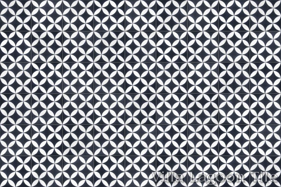 Black And White Cement Tiles Pictures To Pin On Pinterest