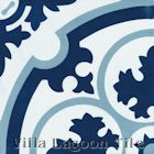 """Danielle Navy"" Cement Tile"