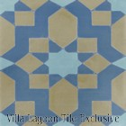 """Fez Primero"" Cement Tile, from Villa Lagoon Tile"