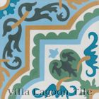 """Habanero Jardin"" Cement Tile, from Villa Lagoon Tile."
