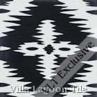 Ikat Fabric styled tile