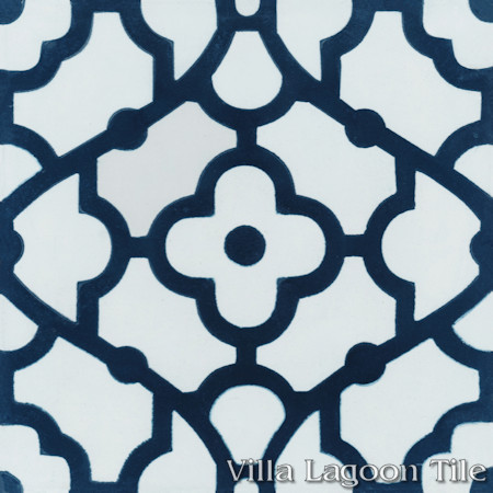 Breeze Blue & White, from Villa Lagoon Tile