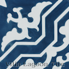 """Talia Deep Inlet"" Cement Tile from Villa Lagoon Tile"