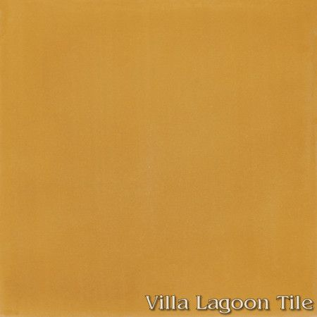 Solid Maple Sugar cement tile, from Villa Lagoon Tile.