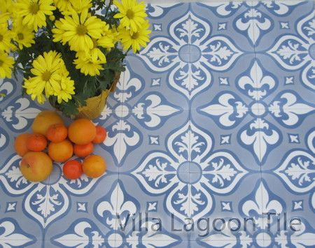Lancelot Encaustic Cement Tile