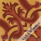 """Madeira Hearts Ablaze"" Cement Tile from Villa Lagoon Tile"