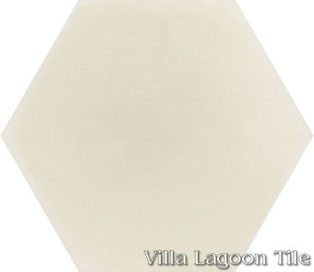 Mixed Sandy Hex Cement Tile, from Villa Lagoon Tile.