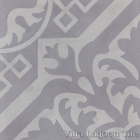 Nuevo Castillo Carrara cement tile,, from Villa Lagoon Tile.