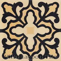 Caterina Cement Tile, from Villa Lagoon Tile