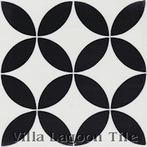 Circulos B Cement Tile, from Villa Lagoon Tile