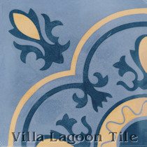 Jameson Cement Tile, from Villa Lagoon Tile