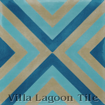 Mesmer Cement Tile, from Villa Lagoon Tile