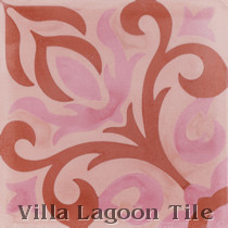 Michelle Cement Tile, from Villa Lagoon Tile