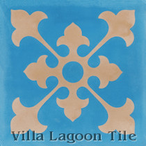 Priego A Cement Tile, from Villa Lagoon Tile