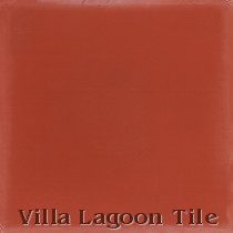Solid Henna Cement Tile, from Villa Lagoon Tile
