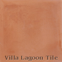 Solid Smoked Pumpkin Cement Tile, from Villa Lagoon Tile