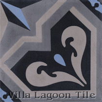 Provincial Cement Tile, from Villa Lagoon Tile