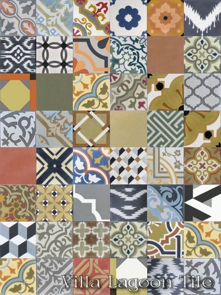 Patchwork tile in stock