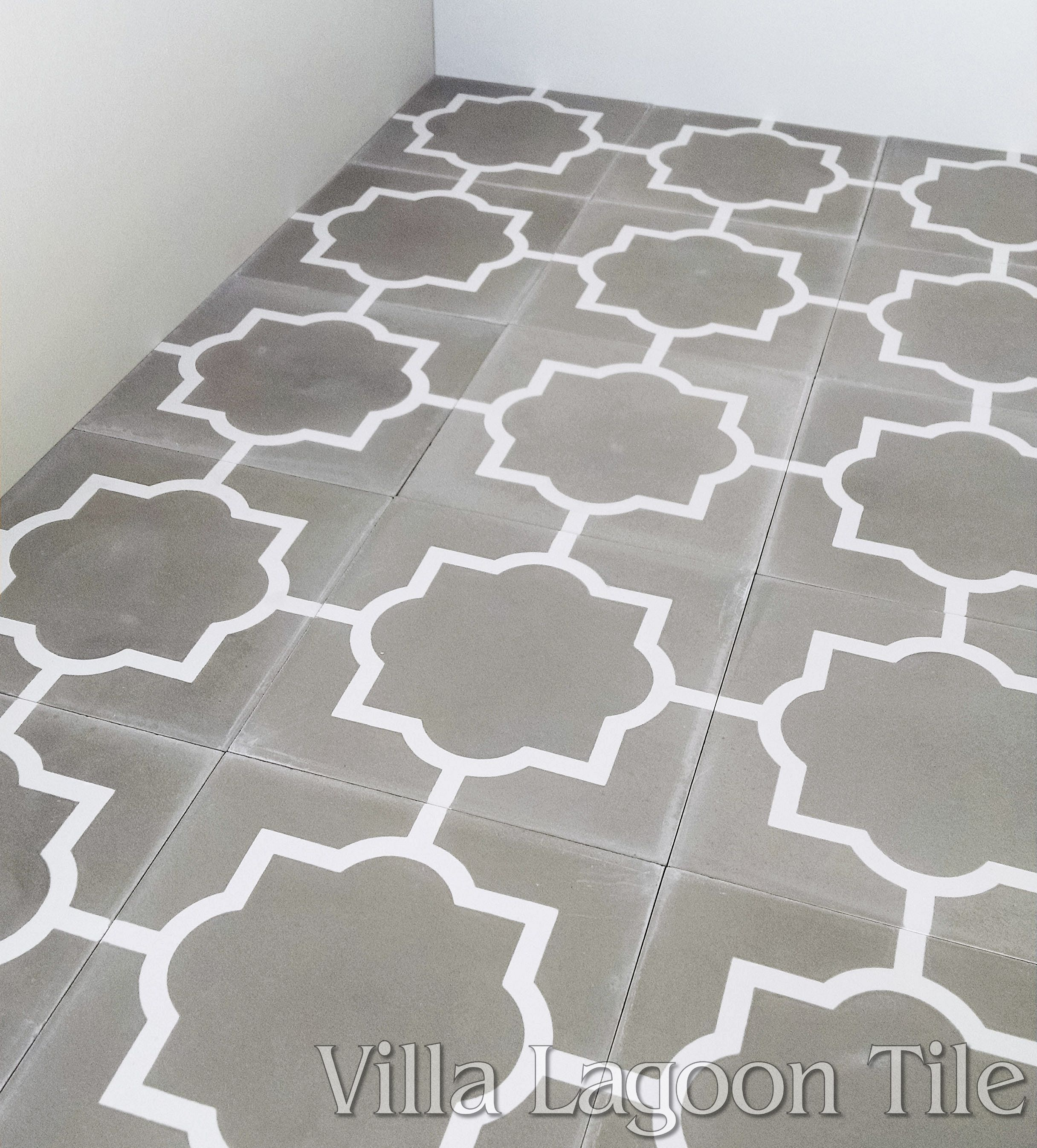 For Larger Image Piazza Petite Cement Tile Floor