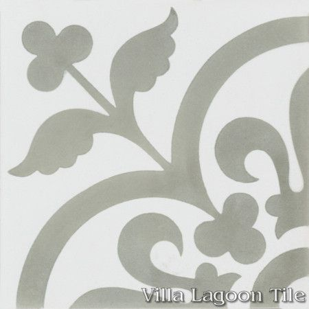"""Raylen A"" cement tile, from Villa Lagoon Tile."