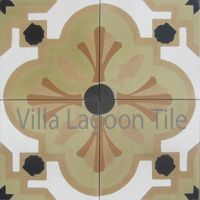 """Savona Venice"" Cement Tile, From Villa Lagoon Tile"